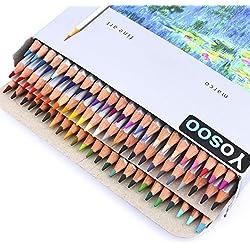Conjunto de dibujo Yosoo con 72lápices de colores