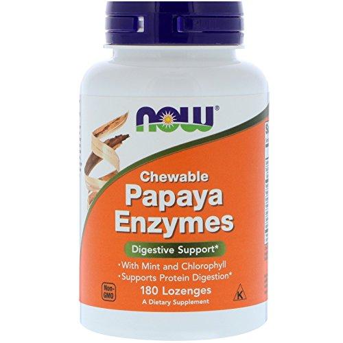 NOW Papaya Enzyme Chewable