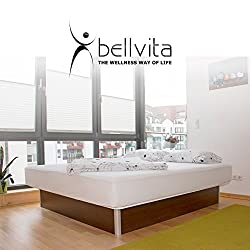 bellvita Waterbed including delivery FREE selectable size, color stabilization, wenge,160 cm x 200 cm