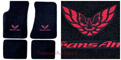 pontiac-firebird-trans-am-4-piece-custom-fit-black-carpet-floor-mat-set-with-gm-licensed-firebird-tr