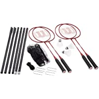 Wilson Tour Pro Badminton Kit Badminton - 27-Inch, Red