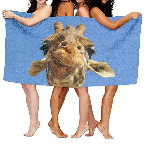 Giraffe Womens Licht (XCVNBX Bath Towels,Ultra Absorbent Microfiber Beach Towel for Men Women Kids,Giraffe Picnic Mat)