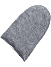 2ef1a05a456 Love Cashmere Ladies 100% Cashmere Beanie Hat - Light Grey - Hand Made in  Scotland