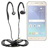 Duragadget Casque Audio pour Sportif compatibles avec Les Mobiles Samsung Galaxy J3, J5, J7, A5