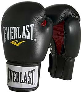 Everlast Erwachsene Boxartikel 6000 Moulded Foam Training Gloves Pu, Black, 8, 057307 03005