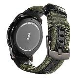 Myfei Fashion Gear S3fasce in nylon, S3Frontier Classic Band, 22mm traspirante cinturini per orologi per Samsung Gear S3cinghia fascia in tessuto di nylon morbido orologio fasce