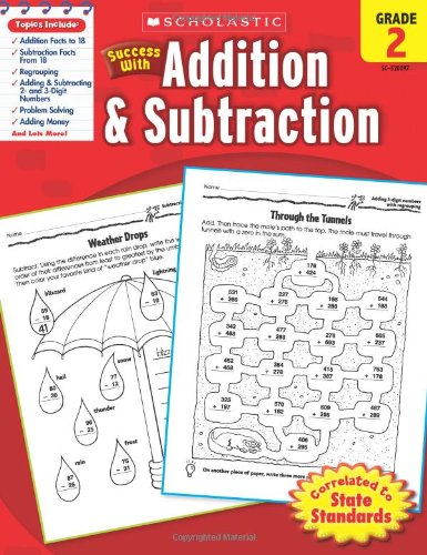 Scholastic Success with Addition & Subtraction, Grade 2 (Success With Math) por Danette Randolph