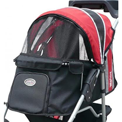 Pet Stroller,IPS-070, Black/Silver, Dog Carrier, Trolley, Innopet, Comfort EFA Buggy. Foldable pet buggy, pushchair… 5