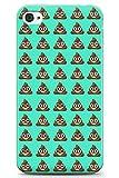 iPhone 4 / 4s Emoji Motif Merde en Gel de Silicone TPU Mince Souple Coque Caca Emoji Mignonne Drôle Émoticône