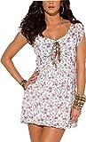 Kleid Sommerkleid von Melrose - Offwhite Gr. 40
