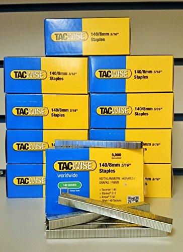 Tacwise Agrafes 140/8mm 5/16Lot de 50000