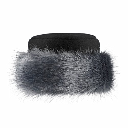 ca05a4745eb Futrzane Faux Fake Fur Hat With Fleece Russian cossack Winter Ladies Women  (M