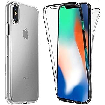 XEPTIO Coque Apple iPhone XR Protection intégrale 360 degrés arrière et écran Avant TPU Antichoc