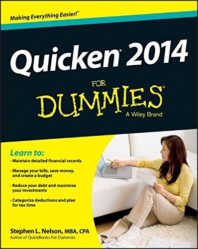 Quicken Dummies (Quicken 2014 For Dummies)