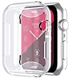Feskin Apple Watch Series 4 Case, 2018 Soft iPhone Watch Cases with Ultra Thin Full Screen Protector Cover for iWatch Series 4 (40mm)