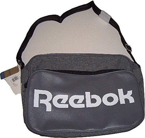 """Preisvergleich Produktbild Reebok Classic Royal Shoulder Bag DJ Tasche Verstellbare Schulterträger Hauptfach mit Reißverschluß Kleines zusätzliches Fach vorne mit Reißverschluß 15"""" Laptop Sleeve Maße:37 x 27 x 15 cm"""