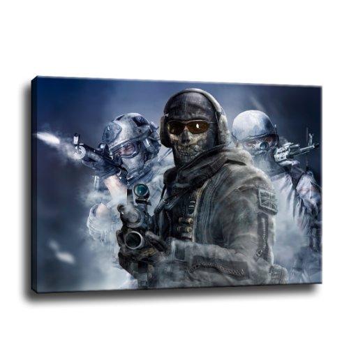 f Leinwand - 80 x 60 cm - Fertig gerahmte Kunstdruck Bilder als Wandbild - Billiger als Ölbild Gemälde - KEIN Poster oder Plakat ()