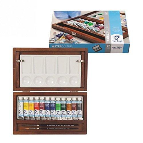 Caja de Madera Acuarela Van Gogh TUBE BOX GWC112