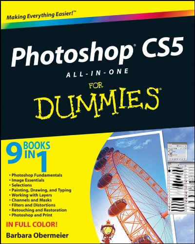 Photoshop CS5 All-in-One For Dummies (For Dummies Series)