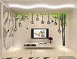 Alicemall 3D Wandaufkleber Stereo Wandaufkleber Abnehmbare Wohnzimmer Schlafzimmer Kinderzimmer Sofa Hintergrund Wandtattoo Möbel