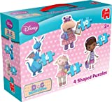 Disney Doc McStuffins 4 in 1 Shaped Jigsaw Puzzles