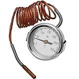 Gummiprodukt MB1074-0-300° Thermometer mit 150cm Sensorkabel + Temperaturanzeige
