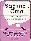 Sag mal, Oma!: Ein Spiel für Oma und Enkelkind - Elma van Vliet