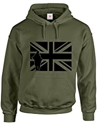 British Army UNION JACK Hooded sweatshirts Army Hooded Sweatshirt