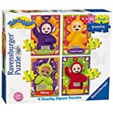Ravensburger–4-in-einer-Box–Chunky-Jigsaw-Puzzles–Teletubbies