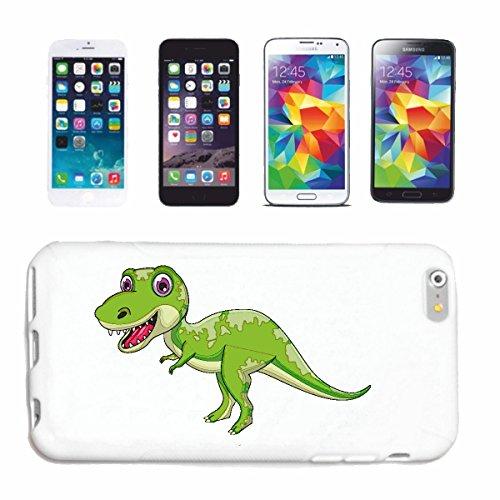 """Handyhülle Samsung Galaxy S5 Mini """"KLEINER DINOSAURIER AUS DER URZEIT REPTIL FLEISCHFRESSER PFLANZENFRESSER ECHSENBECKEN DINOSAURIER VOGELBECKEN TYRANNOSAURUS REX"""" Hardcase Schutzhülle Handycover Smart Cover für Samsung Galaxy S5 Mini in Weiß"""