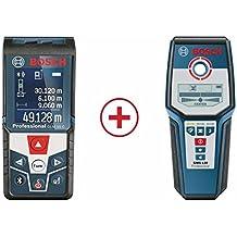 Bosch Medidor GLM 50 C Professional + GMS 120 Professional, ...