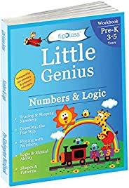 Numbers & Logic: Pre Kindergarten Workbook (Little Genius Series): Teaches Numbers, Counting, Simple Addit