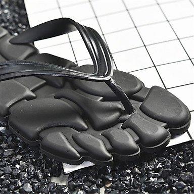 Slippers & amp da uomo;Coppia scarpe primavera estate Comfort Light Soles Outdoor Casual piatto Heel sandali US7.5 / EU38 / UK5.5 / CN38