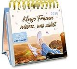 Kluge Frauen wissen, was zählt 2020: Wochenkalender + 12 Postkarten (Jahreskalender) -