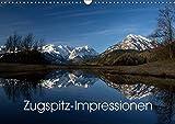 Zugspitz-Impressionen (Wandkalender 2017 DIN A3 quer): Impressionen vom höchsten Berg Deutschlands (Monatskalender, 14 Seiten ) (CALVENDO Natur)