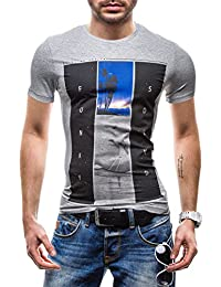 BOLF - T-shirt à manches courtes – GLO STORY 7452 – Homme