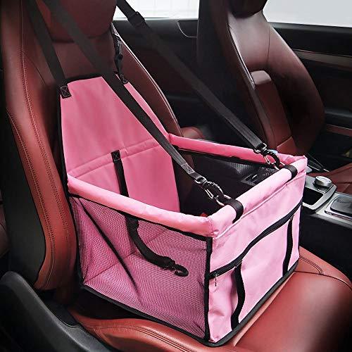 Impermeable para Animal doméstico de alfombra Auto Safety Car cinturón de seguridad - Carcasa Booster Bolsa de transporte PET protección para viaje cojín asiento de coche para perro gato animal