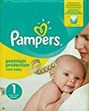 Pampers Premium Protection New Baby Größe 1 2-5 kg