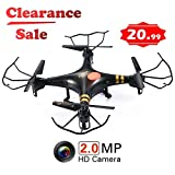 GP TOYS RC DRONE F2C - Camera HD da 2MP - Quadricottero 6 Assi con Giroscopio -...