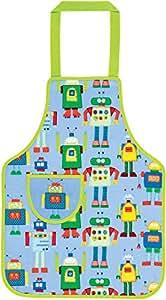Tablier enfant Robots en PVC