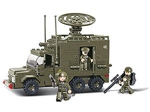 Sluban CONSTRUCCIÓN Set - Serie EJÉRCITO 2 - VEHÍCULO Radar M38-B0300