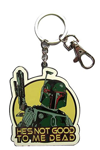 SD Toys, SDTSDT89364, Portachiavi in metallo, soggetto: Star Wars (Boba (Outdoor Metallo Wall Art)