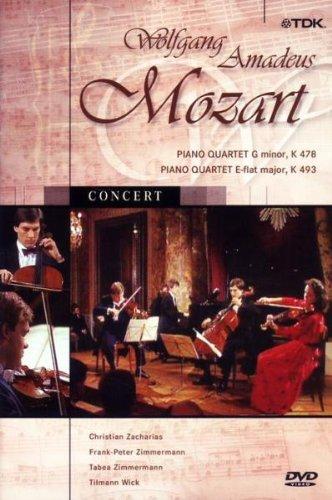 Mozart, Wolfgang Amadeus - Kammermusik: Klavierquartett (KV 478 & 493)