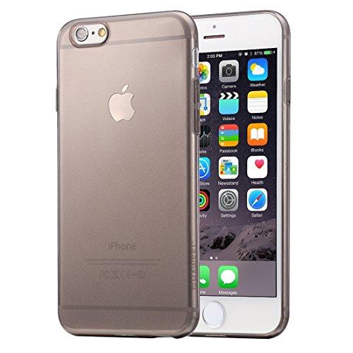 Phone case & Hülle Für IPhone 6 Plus / 6s Plus, HAWEEL 0.3mm Zero Serie Transparente TPU Schutzhülle ( Color : Transparent ) Black