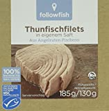 Produkt-Bild: Followfish Thunfischfilet Natur, 8er Pack (8 x 185 g)
