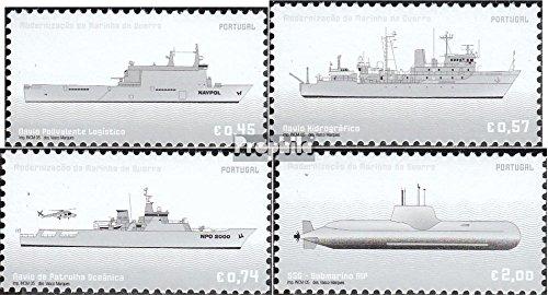 Prophila Collection Portugal 2999-3002 (kompl.Ausg.) 2005 Modernisierung der Mariene (Briefmarken für Sammler) Seefahrt