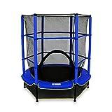 We R Sports ndash; Kinder-Trampolin mit Sicherheitsnetz, My first trampoline, blau