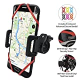 [NEW 2018 PREMIUM EDITION!!] Universal Phone Holder Mount for Bike, Bicycle, Motorbike, 360 Degree Rotation, All handlebars � iPhone, Samsung, Google, Sony, Huawei, LG, etc � 6 COLOURS INCLUDED!!