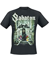 Sabaton Heroes - To Hell And Back T-Shirt schwarz
