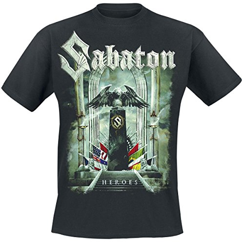 Sabaton Heroes - To Hell And Back T-Shirt nero L